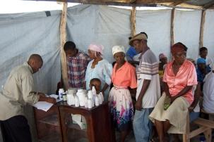 HGD Health Agent registering patients