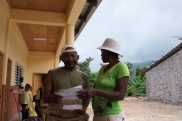 Executive Director Hugues Desgranges, meeting with Allium Community Leader